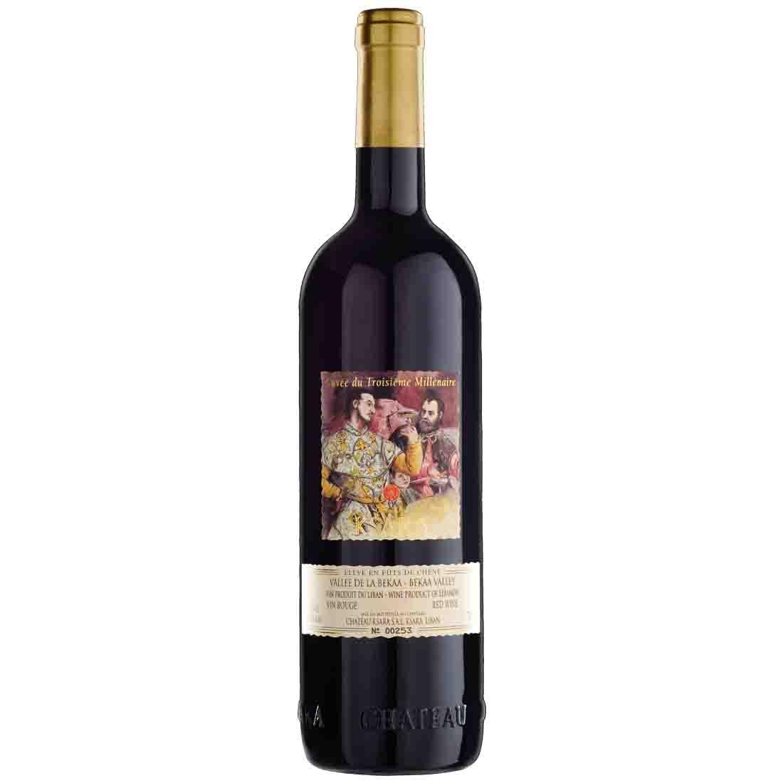 ksara Lebanese red wine Robert parker cuvee du millenaire petit verdot cabernet franc syrah bekaa