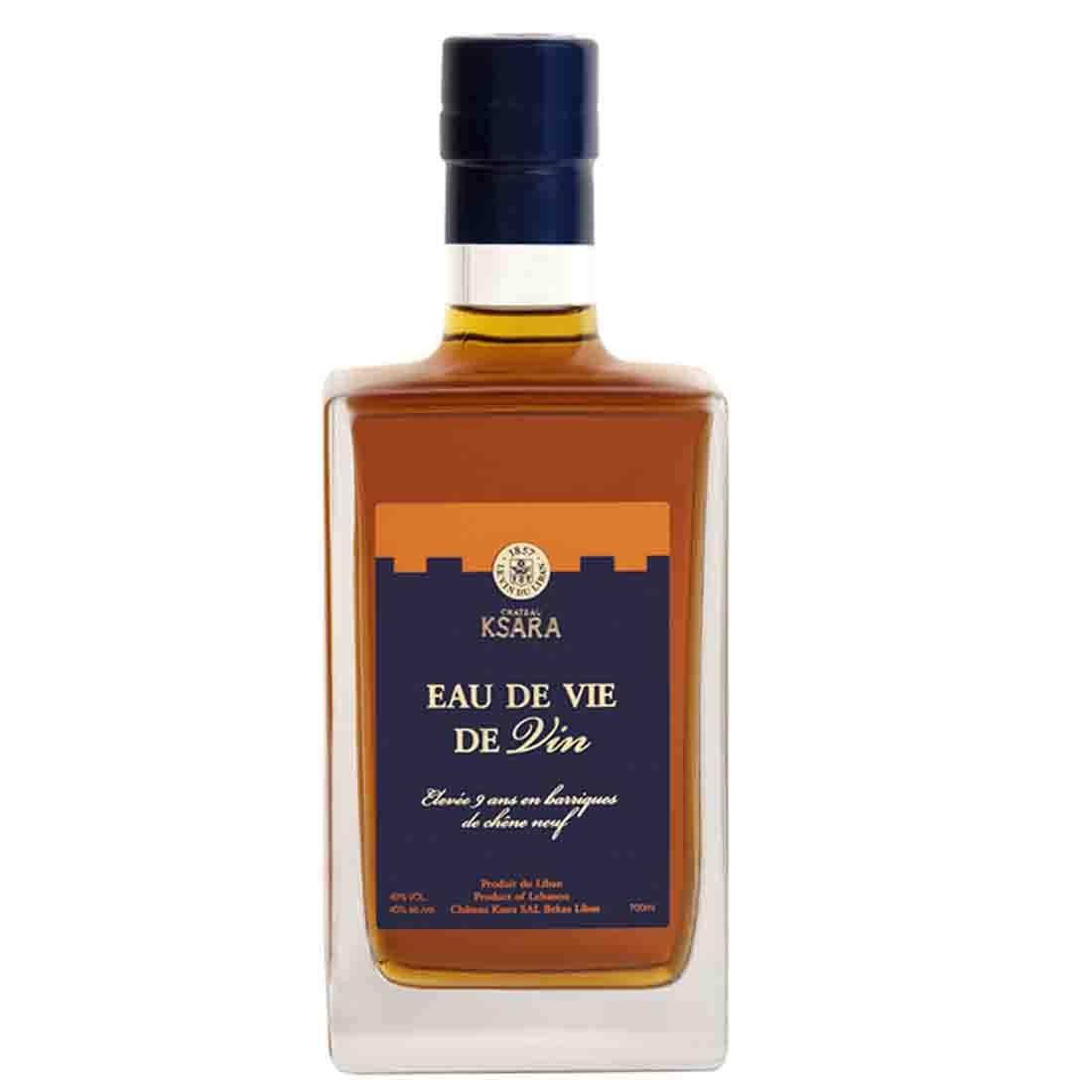 Chateau ksara eau de vie de vin distilled spirit cognac brandy bekaa valley ugni blanc 9 years