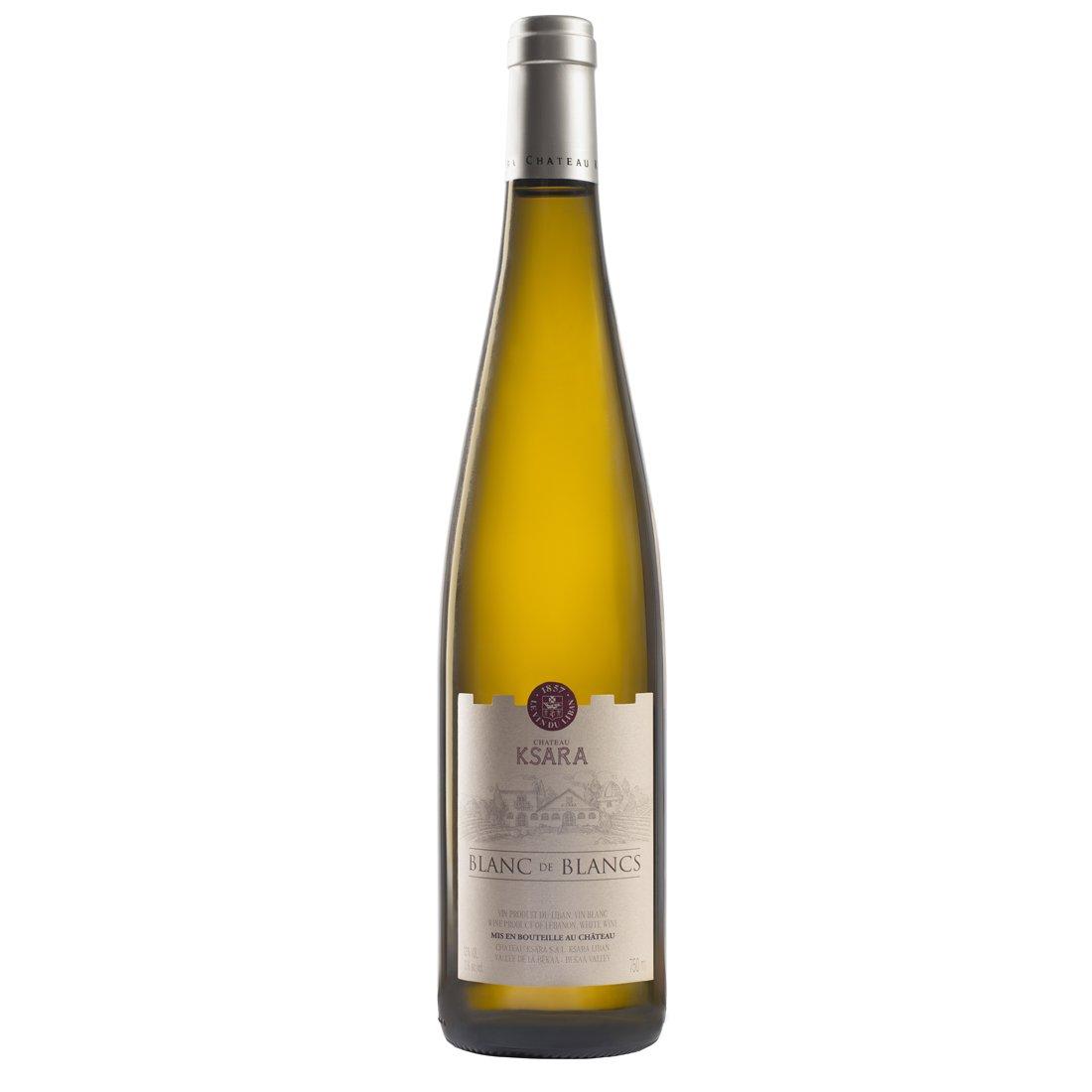 chateau ksara best Lebanese white wine blanc de blancs sauvignon semillon chardonnay bekaa valley