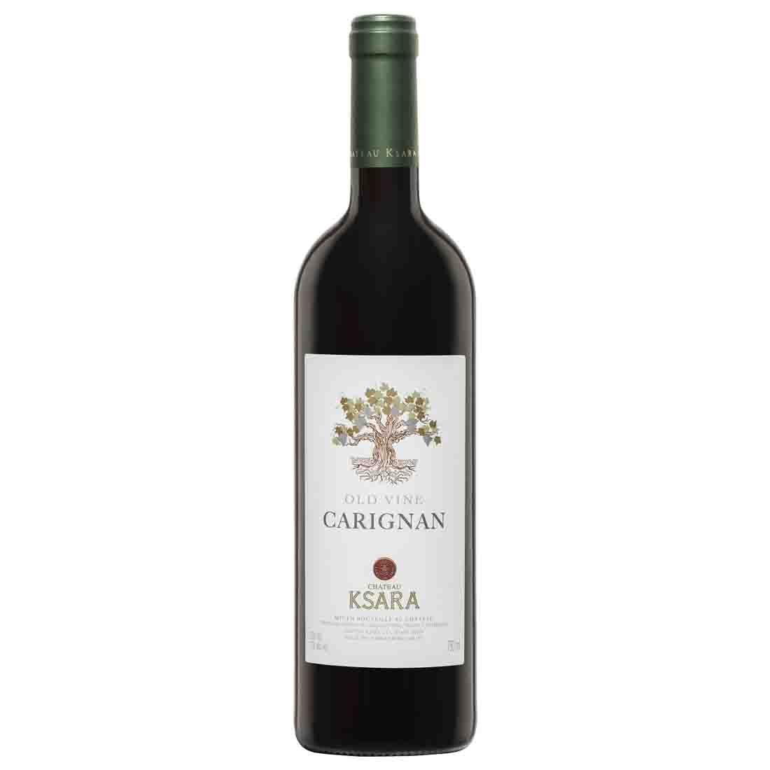 chateau ksara best fruity light lebanese red wine carignan old vines single variety bekaa valley