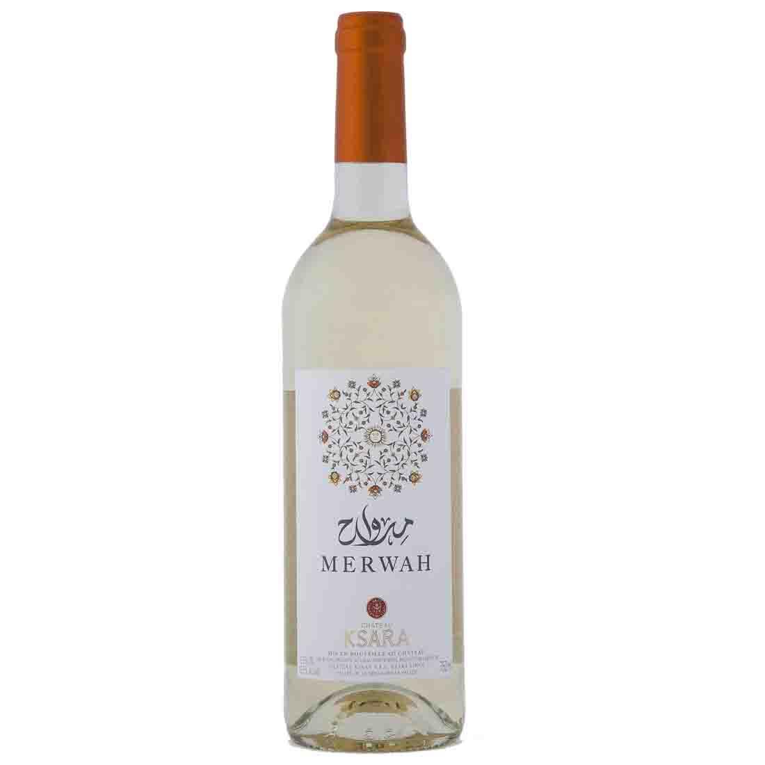 Chateau ksara best Lebanese white wine merwah old vines indigenous single variety bekaa valley