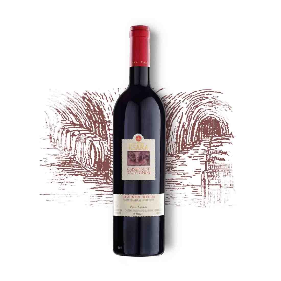 Chateau ksara collectible vintage aging rare Lebanese red wine cabernet sauvignon bekaa valley