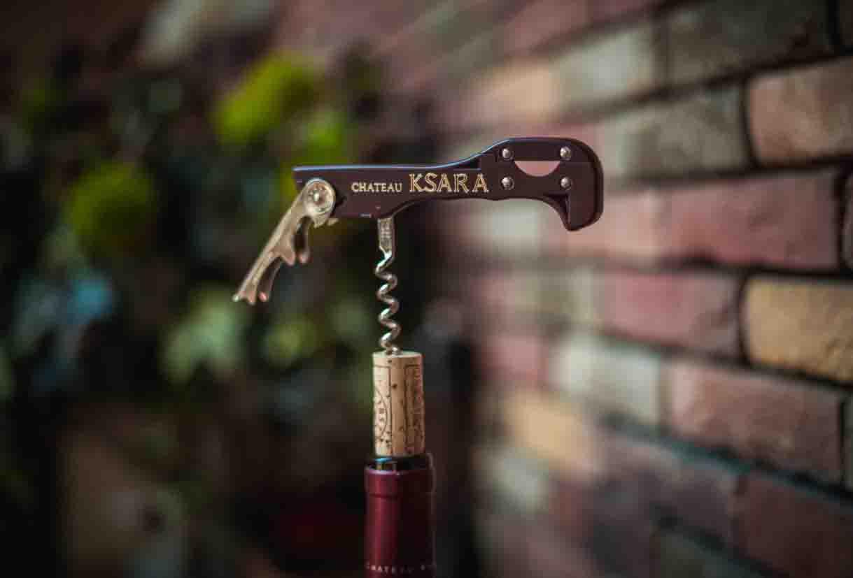 chateau ksara loyalty program gift corkscrew