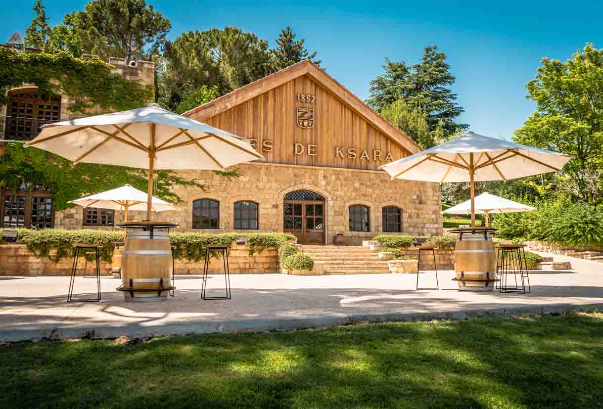 chateau ksara loyalty program gift winery tour tasting for two roman caves cheese platter